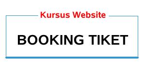 kursus web booking tiket