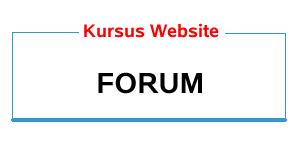kursus web forum