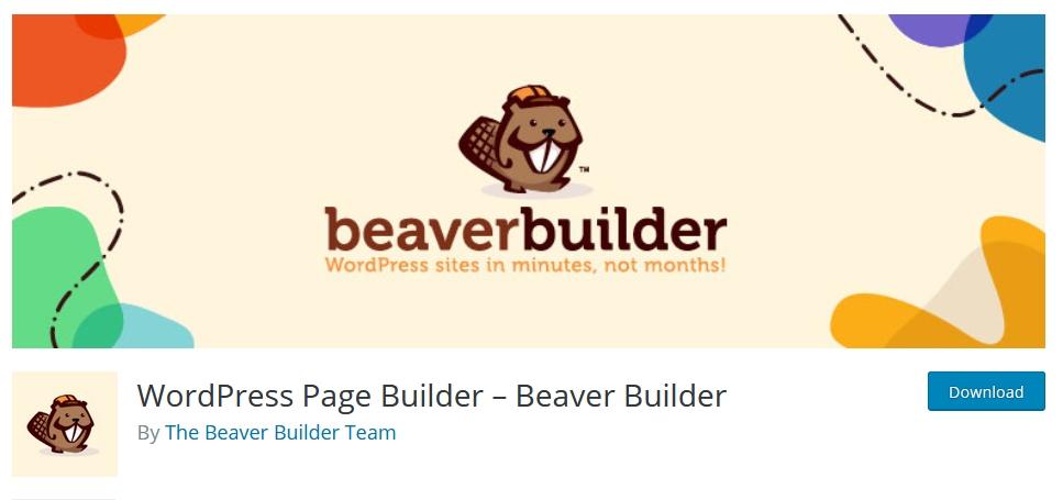 page builder wordpress beaver kursuswebpro