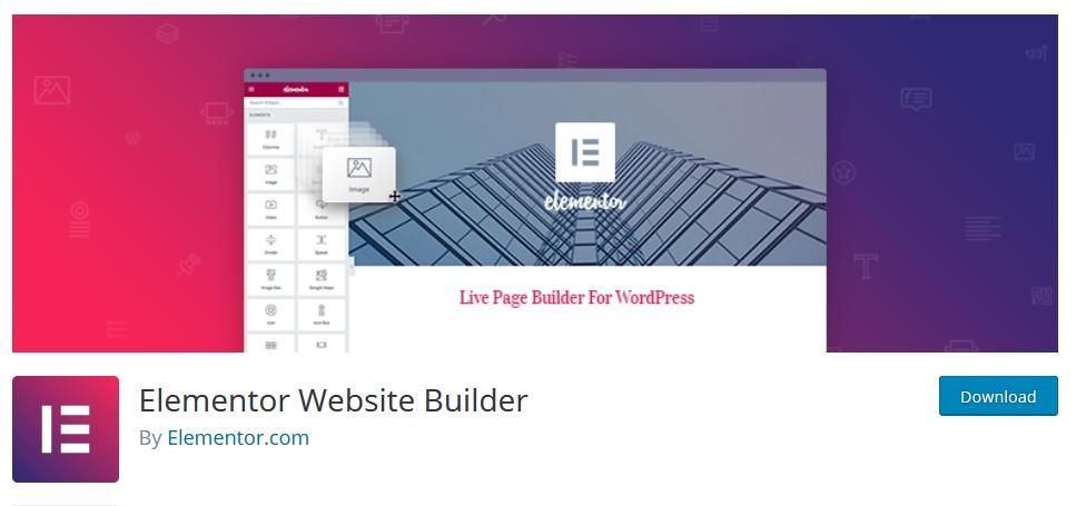 page builder wordpress elementor kursuswebpro