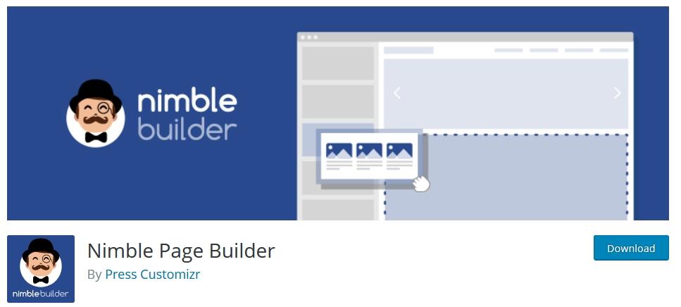 page builder wordpress nimble kursuswebpro