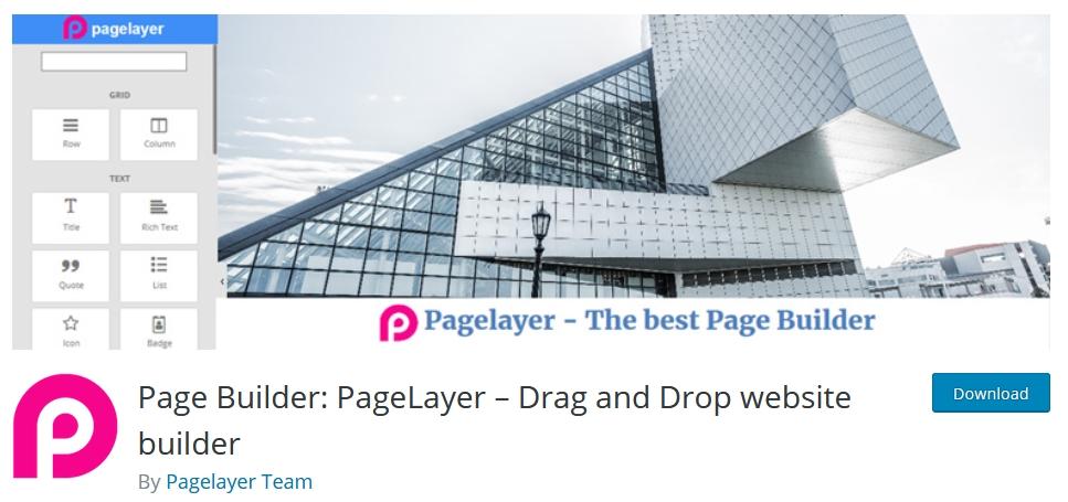 page builder wordpress pagelayer kursuswebpro