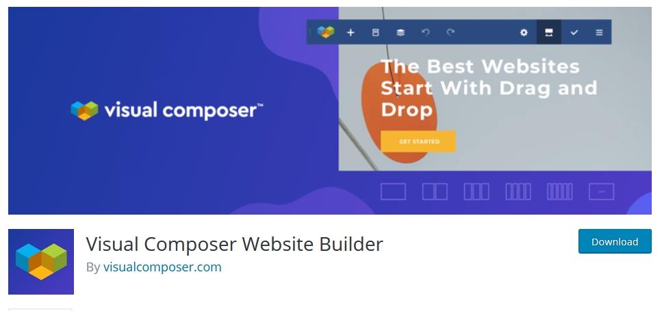 page builder wordpress visual composer kursuswebpro